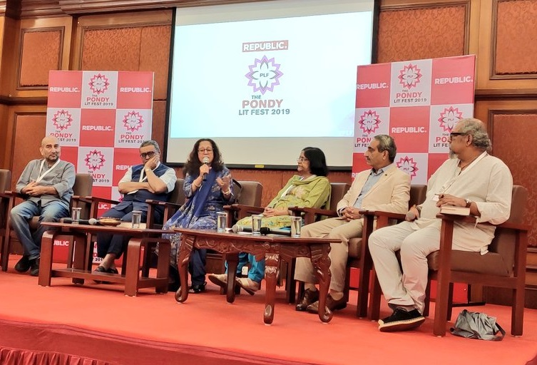 Pondy Lit Fest -Tavleen singh, and others