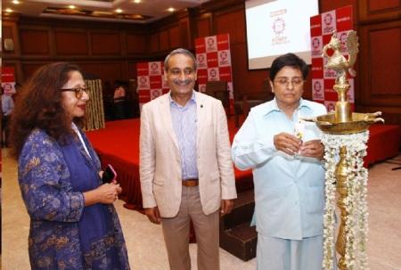 Pondy Lit Fest -Tavleen singh, RAW, Kiran Bedi inaguration