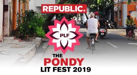 PondyLitFest 2019 - brochure front page