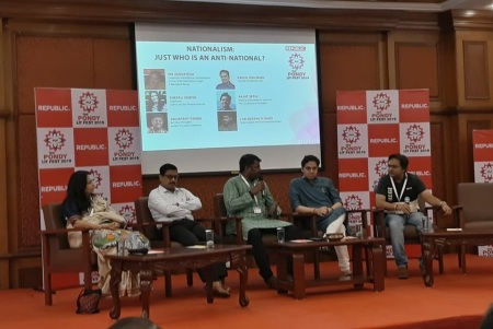 PondyLitFest 2019 -Nationalist, anti-nationalist discussion